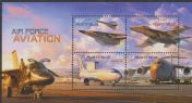AUS SGMS3556 Air Force Aviation miniature sheet